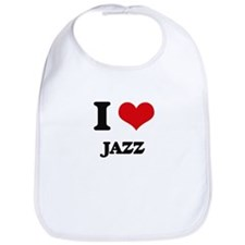 I Love Jazz Bib