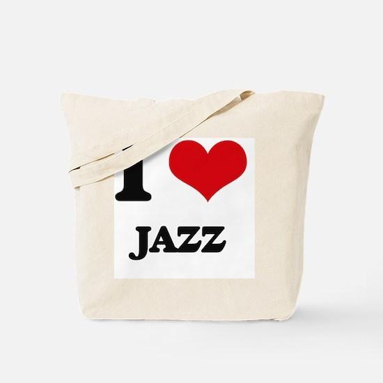 I Love Jazz Tote Bag