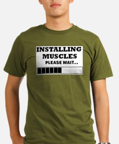 Installing Muscles - Loading Bar T-Shirt