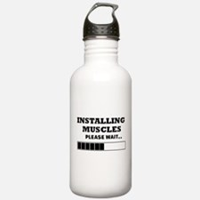 Installing Muscles - L Water Bottle