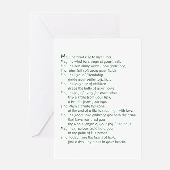 Eire Blessing Greeting Card