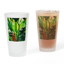 Tropical Drinking Glass