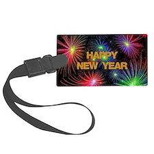 Happy New Year Luggage Tag