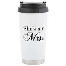 She's My Mrs. Travel Mug