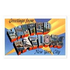 United Nations Postcards (Package of 8)