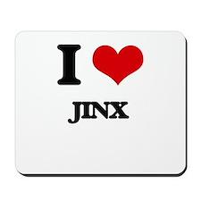 I Love Jinx Mousepad