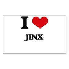 I Love Jinx Decal