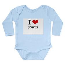I Love Jowls Body Suit
