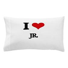 I Love Jr. Pillow Case