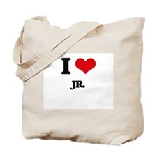 I Love Jr. Tote Bag