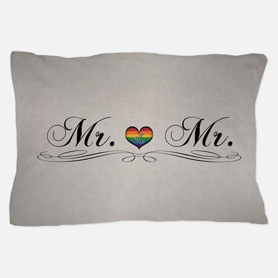 Mr. & Mr. Gay Design Pillow Case