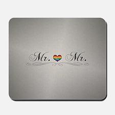 Mr. & Mr. Gay Design Mousepad