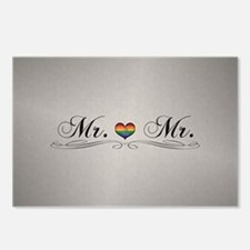 Mr. & Mr. Gay Design Postcards (Package of 8)