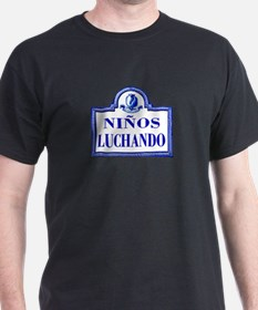 Niños Luchando, Granada - Spain T-Shirt