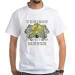 Venison its whats for dinner White T-Shirt