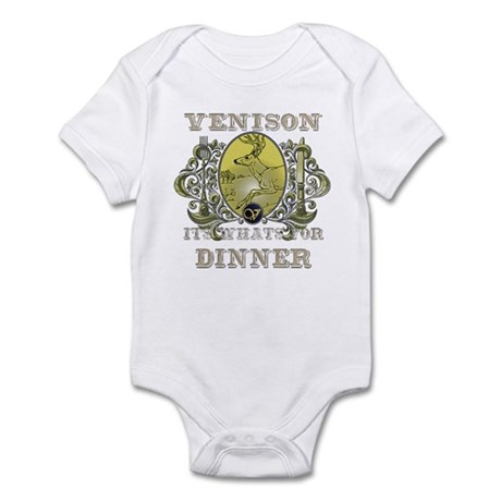 Venison its whats for dinner Infant Bodysuit