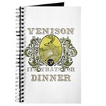 Venison its whats for dinner Journal