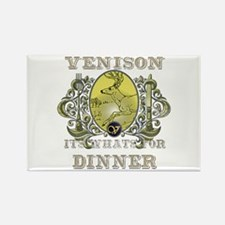 Venison its whats for dinner Rectangle Magnet