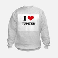 I Love Jupiter Sweatshirt