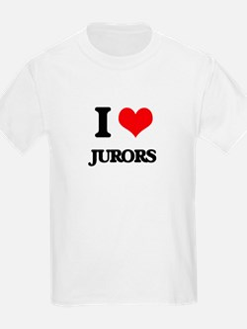 I Love Jurors T-Shirt
