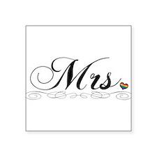 Mrs. Lesbian Pride Sticker