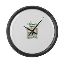 Nessie Believe Large Wall Clock