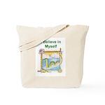 Nessie Believe Tote Bag