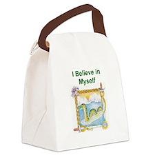 Nessie Believe Canvas Lunch Bag