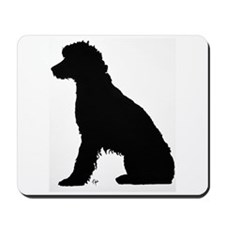 Fanny on the dock Mousepad