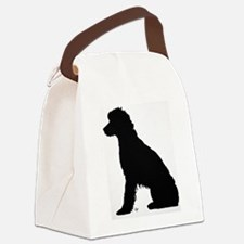 Fanny on the dock Canvas Lunch Bag