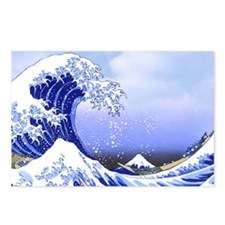 Hokusai Surf's Up! Great Postcards (Package of 8)