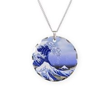 Hokusai Surf's Up! Great Wav Necklace