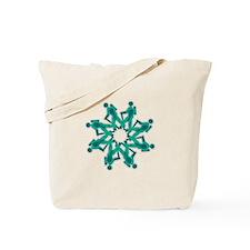 Cute Hiker Tote Bag