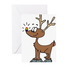 Unique Lesbian christmas Greeting Cards (Pk of 20)