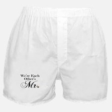 We're Each Other's Mr. Boxer Shorts