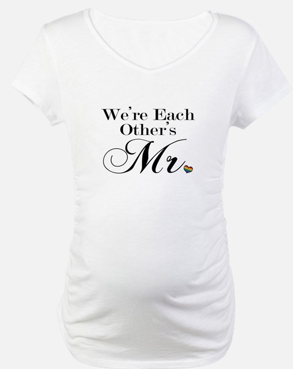We're Each Other's Mr. Shirt