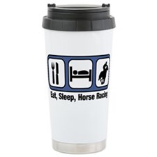 Unique Race horses Travel Mug