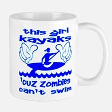 Zombies Can't Swim Mug
