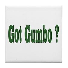 Got Gumbo Tile Coaster