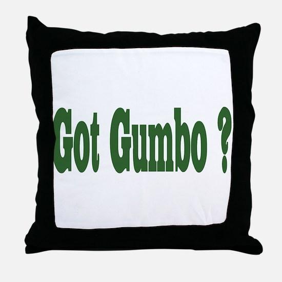Got Gumbo Throw Pillow