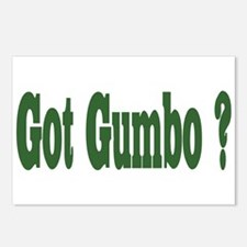 Got Gumbo Postcards (Package of 8)