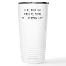 Cute Hockey star Travel Mug
