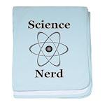 Science Nerd baby blanket