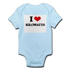 I Love Kilowatts Body Suit