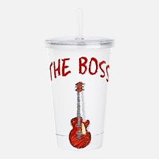 The Boss, Guitar Acrylic Double-wall Tumbler