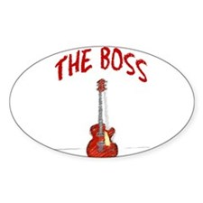 The Boss, Guitar Decal