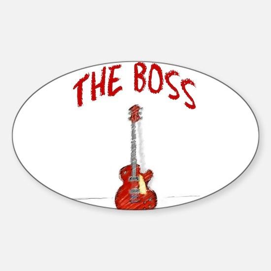 The Boss, Guitar Decal