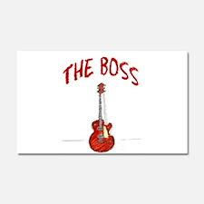 The Boss, Guitar Car Magnet 20 x 12