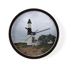 Big Sable Lighthouse Wall Clock