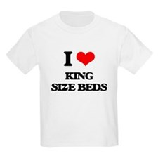 I Love King Size Beds T-Shirt